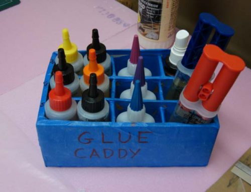 Build Your Own Glue Caddy
